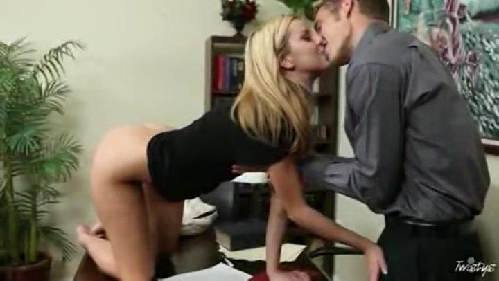 Jessie Rogers Blonde Secretary Loves To fuck