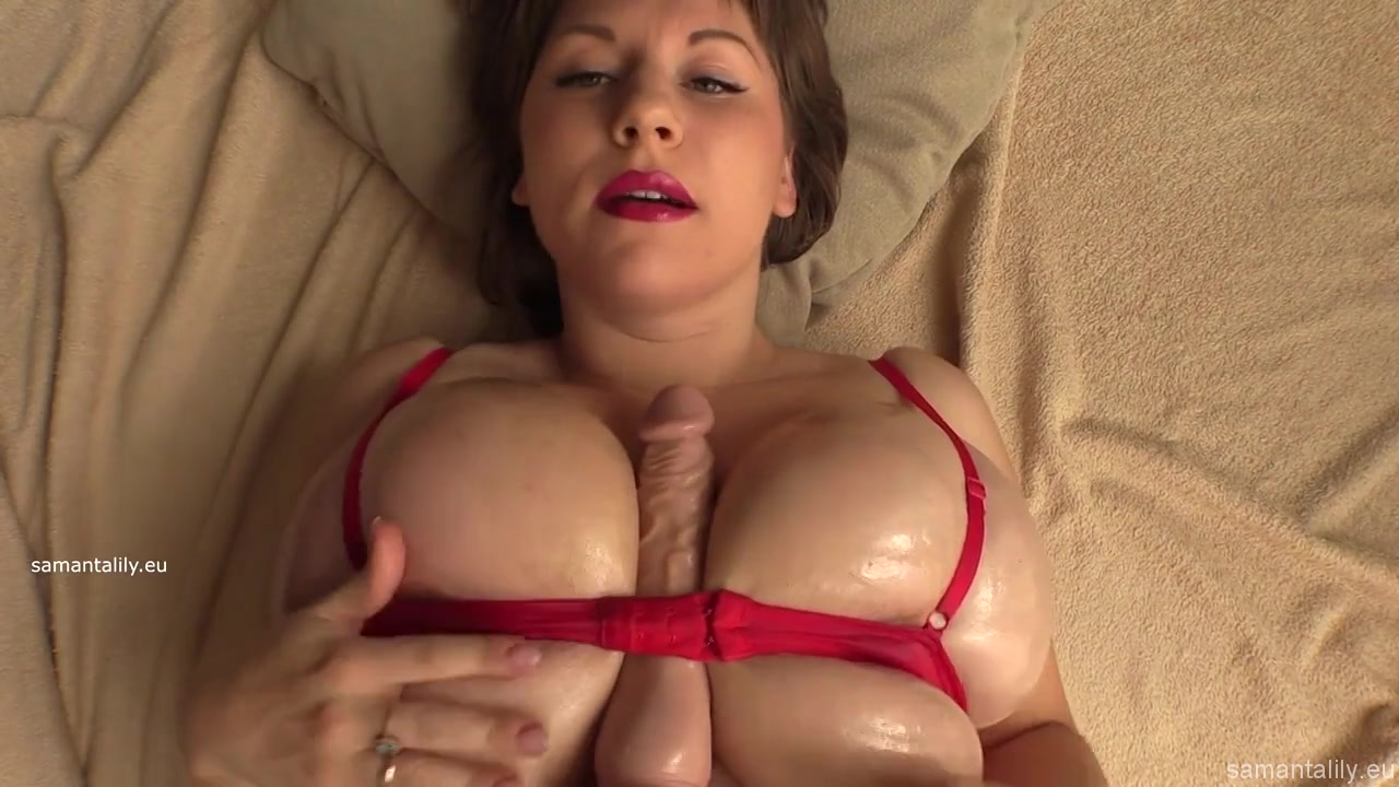 Wife with Monster Breasts titfuck