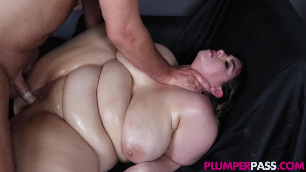 Kush Oiled Up bbw Rose