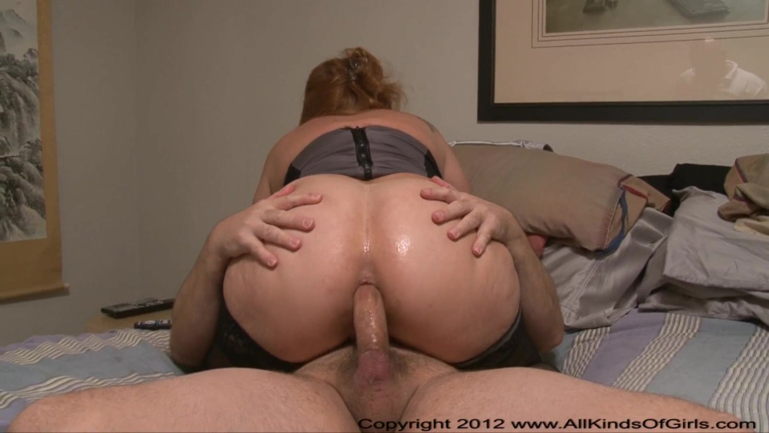 Bubble Butt Riding Big Dick