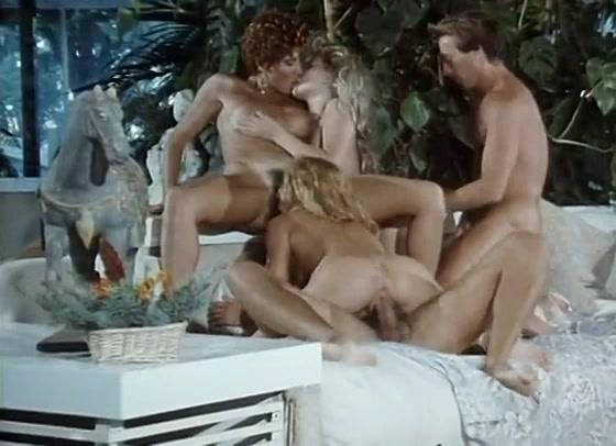 Nice vintage group sex