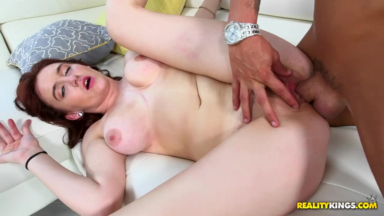 Curious brunette widens her sex experience on a black cock