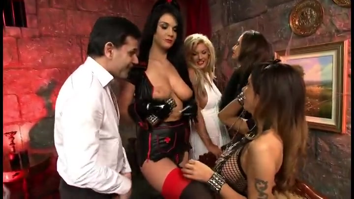 Jasmine Black gets naughty in hardcore orgy